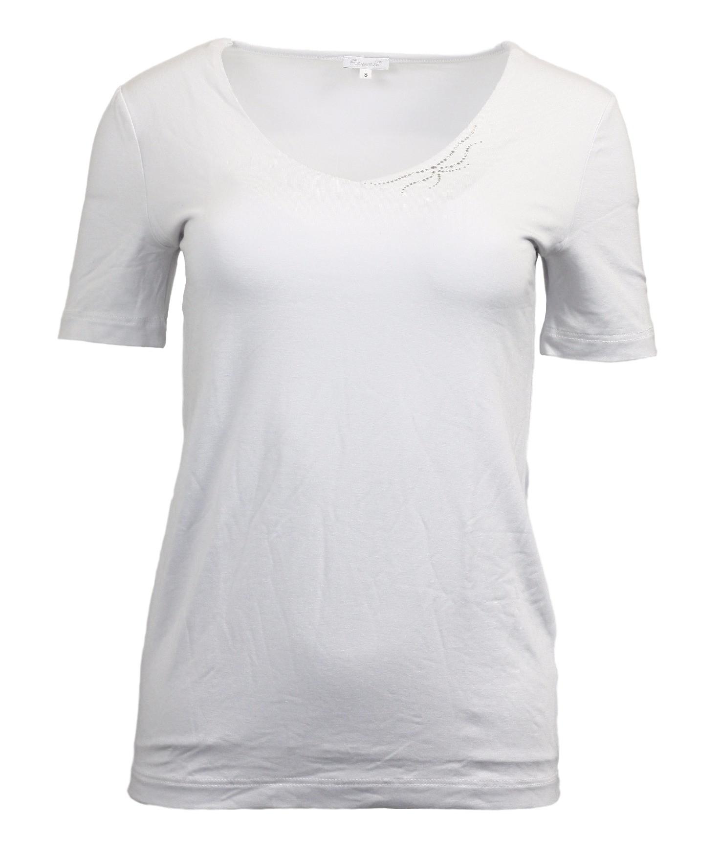 Dámské tričko Linaka kr - Favab - Bílá/L