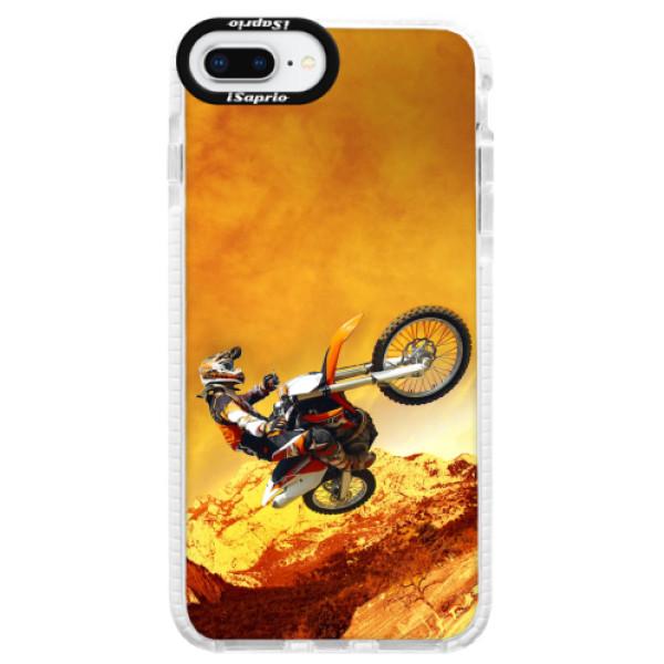 Silikonové pouzdro Bumper iSaprio - Motocross - iPhone 8 Plus