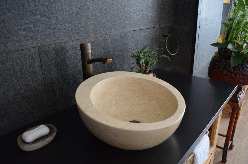 Kamenné umyvadlo z mramoru Hébé