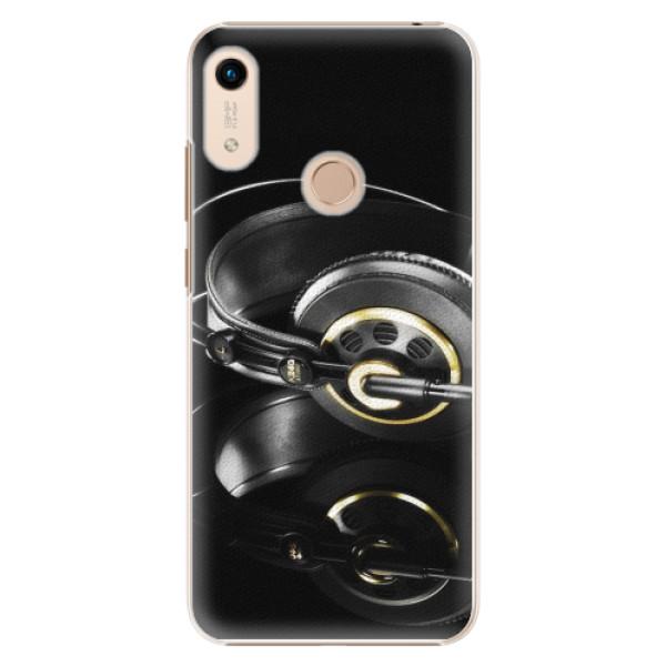 Plastové pouzdro iSaprio - Headphones 02 - Huawei Honor 8A