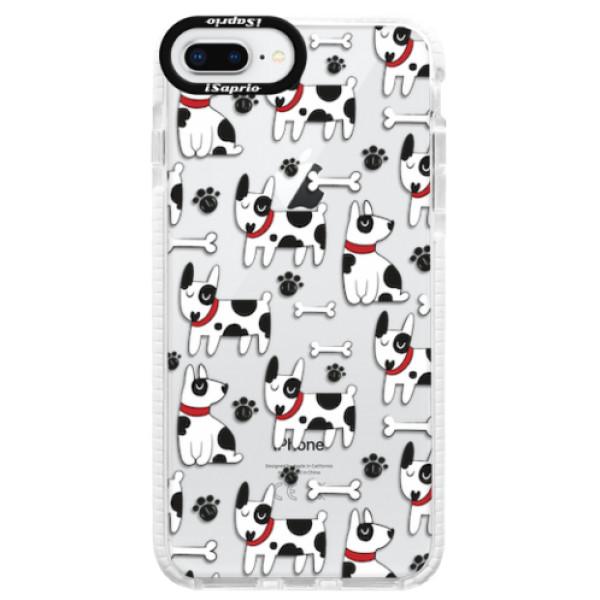 Silikonové pouzdro Bumper iSaprio - Dog 02 - iPhone 8 Plus