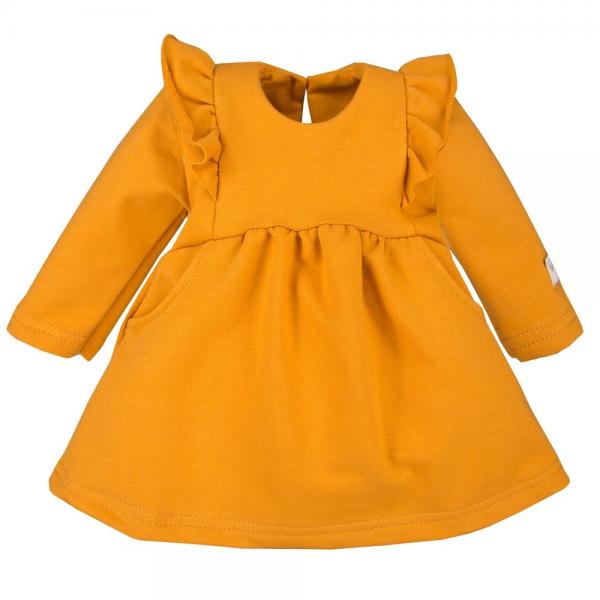 EEVI Dívčí šaty s volánky