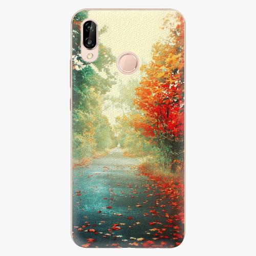 Plastový kryt iSaprio - Autumn 03 - Huawei P20 Lite