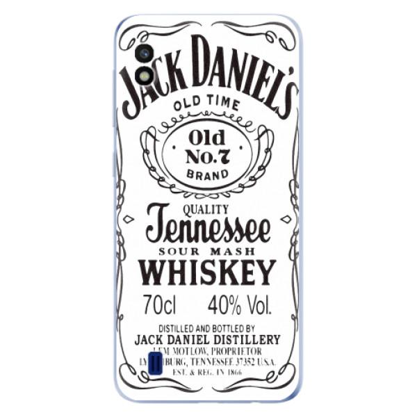 Odolné silikonové pouzdro iSaprio - Jack White - Samsung Galaxy A10