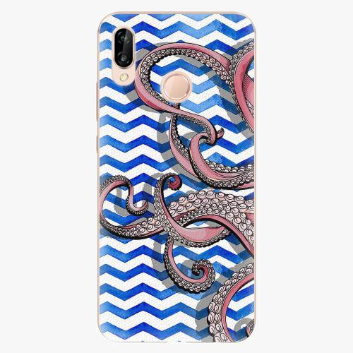 Plastový kryt iSaprio - Octopus - Huawei P20 Lite