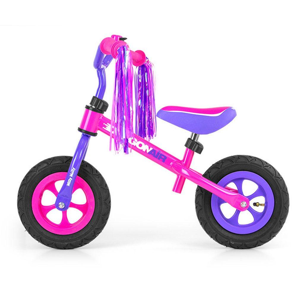 Dětské odrážedlo kolo Milly Mally Dragon Air - pink - růžová