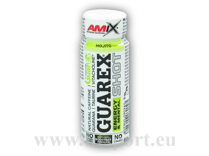 Guarex Energy and Mental Shot 60ml akce-mojito