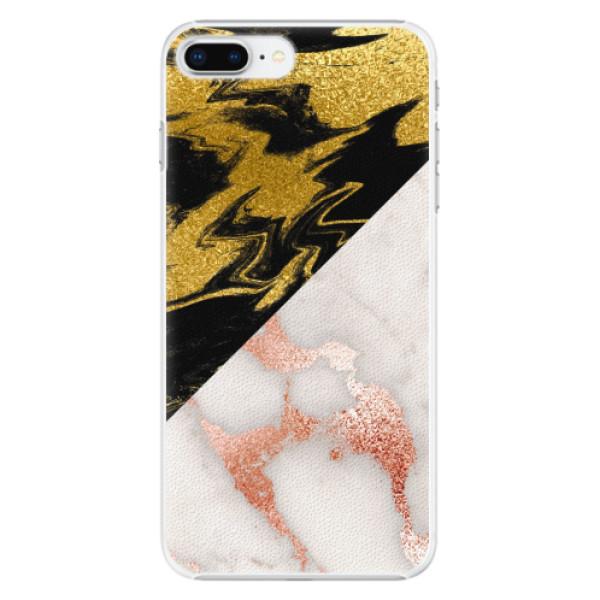 Plastové pouzdro iSaprio - Shining Marble - iPhone 8 Plus