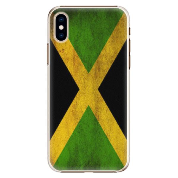 Plastové pouzdro iSaprio - Flag of Jamaica - iPhone XS