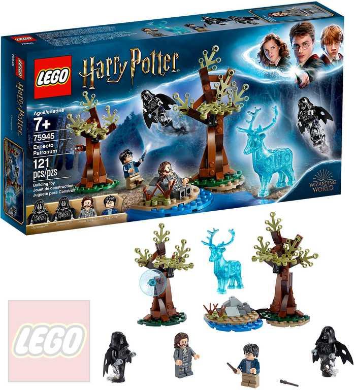 LEGO HARRY POTTER Especto patronum 75945 STAVEBNICE