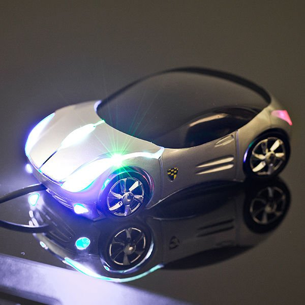Počítačová myš - auto
