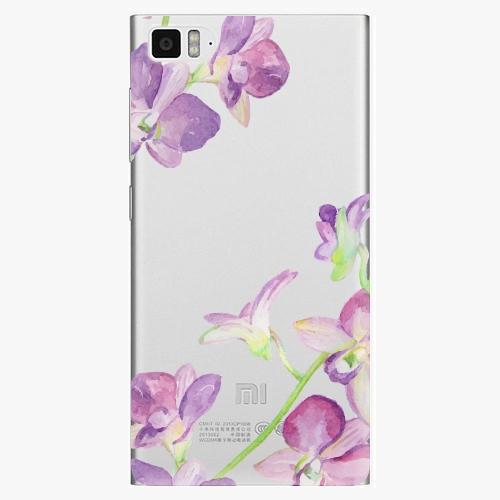 Plastový kryt iSaprio - Purple Orchid - Xiaomi Mi3