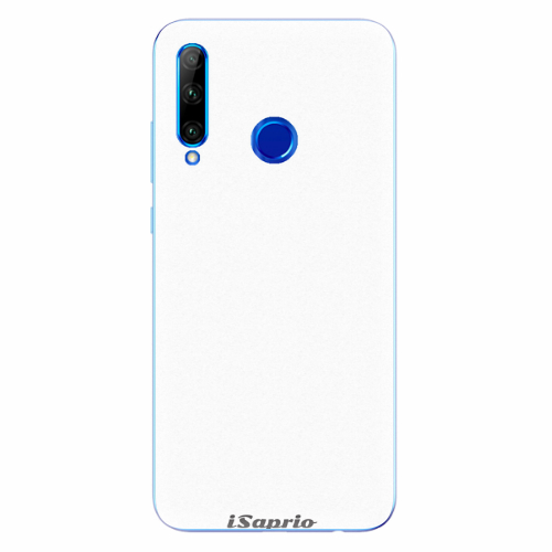 Silikonové pouzdro iSaprio - 4Pure - bílý - Huawei Honor 20 Lite