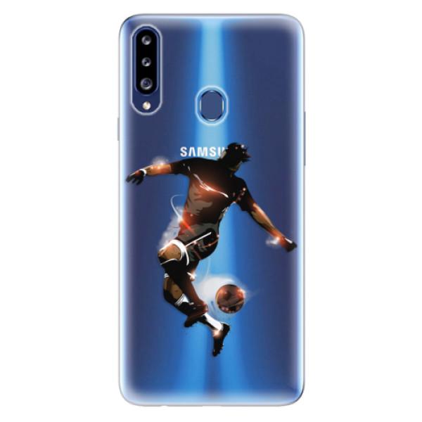 Odolné silikonové pouzdro iSaprio - Fotball 01 - Samsung Galaxy A20s