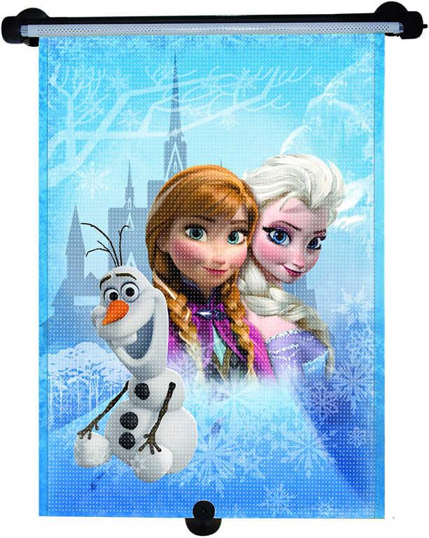 Roletka stínítko do auta s obrázkem Frozen (Ledové Království) 34x52cm