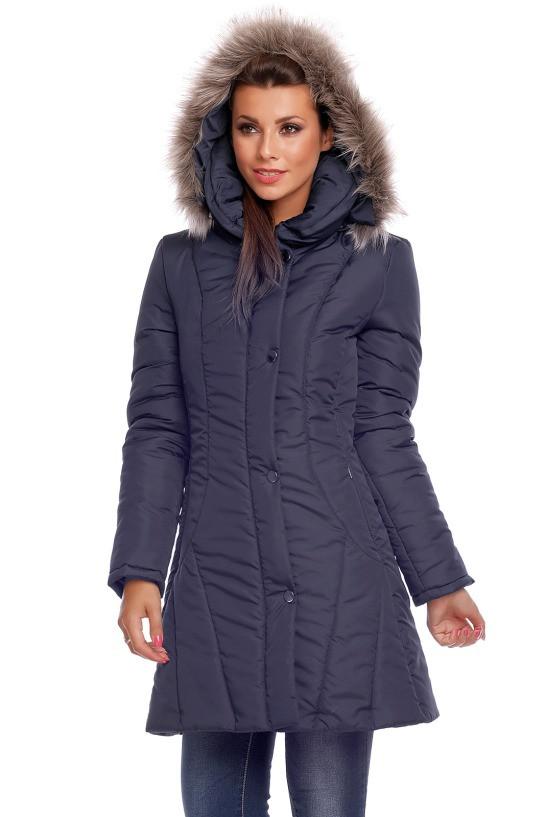 Dámská zimní bunda 63553 - Cabba - Modrá/44