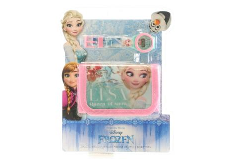 Hodinky a peněženka set Frozen