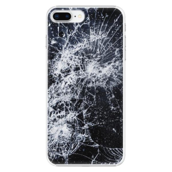 Plastové pouzdro iSaprio - Cracked - iPhone 8 Plus