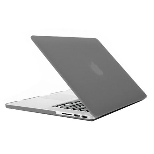 Polykarbonátové pouzdro / kryt iSaprio pro MacBook Retina 15 šedé