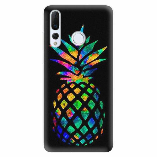 Silikonové pouzdro iSaprio - Rainbow Pineapple - Huawei Nova 4