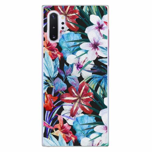 Plastový kryt iSaprio - Tropical Flowers 05 - Samsung Galaxy Note 10+