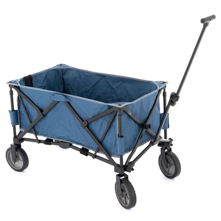 transportni-skladaci-vozik-modry