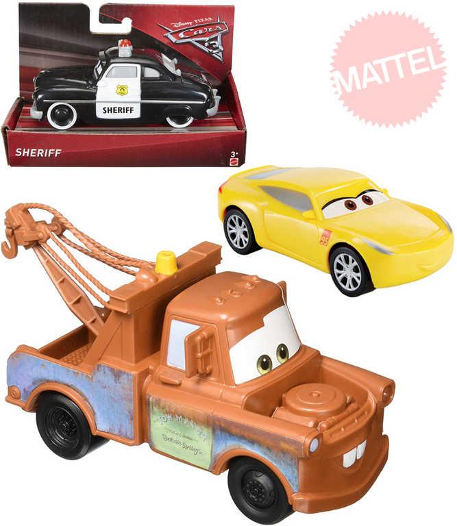 MATTEL Cars 3 (Auta) Autíčko 4 druhy