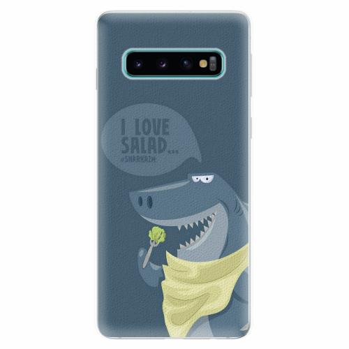 Silikonové pouzdro iSaprio - Love Salad - Samsung Galaxy S10