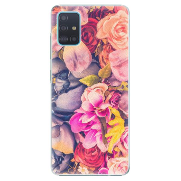 Plastové pouzdro iSaprio - Beauty Flowers - Samsung Galaxy A51