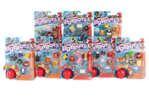 Transformers BotBots 8 figurek