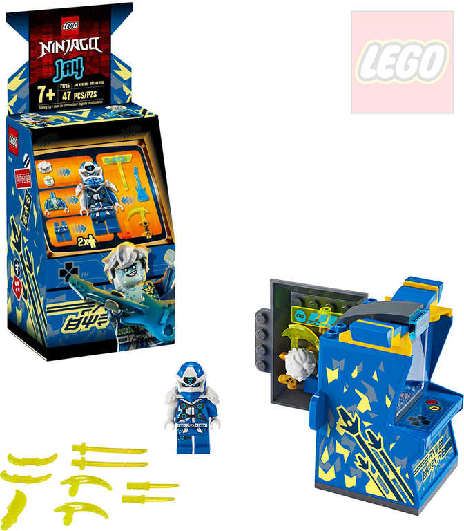 LEGO NINJAGO Jayův avatar 71715 STAVEBNICE