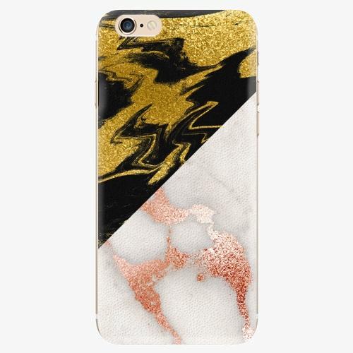 Silikonové pouzdro iSaprio - Shining Marble - iPhone 6/6S