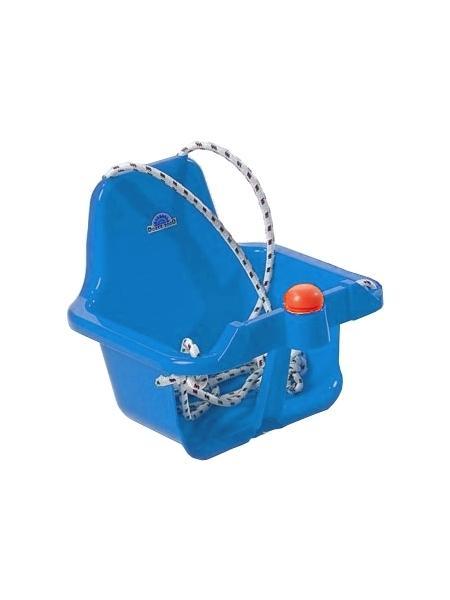 Houpačka s pískátkem - světlá - modrá