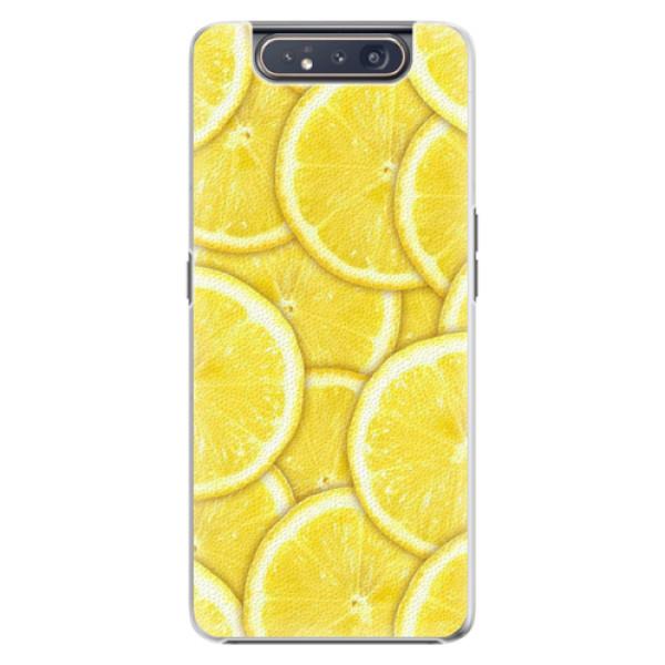 Plastové pouzdro iSaprio - Yellow - Samsung Galaxy A80