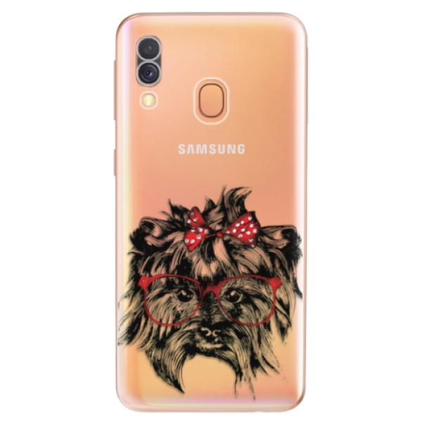 Odolné silikonové pouzdro iSaprio - Dog 03 - Samsung Galaxy A40