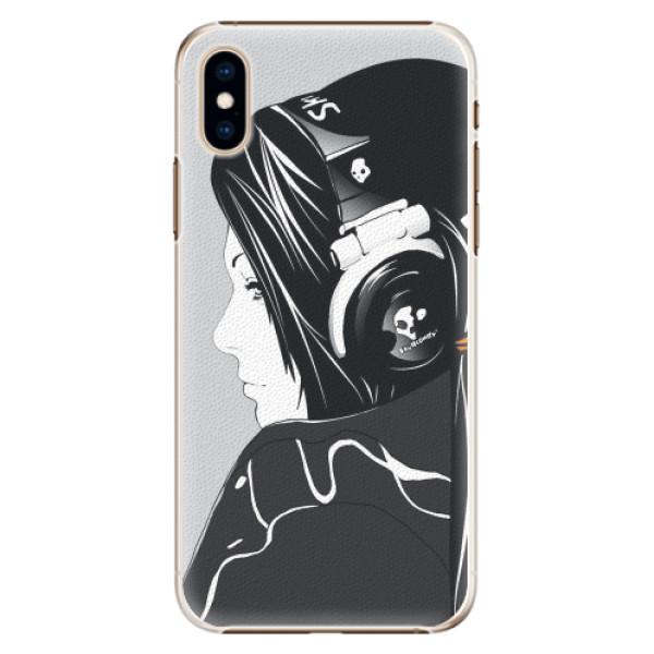 Plastové pouzdro iSaprio - Headphones - iPhone XS