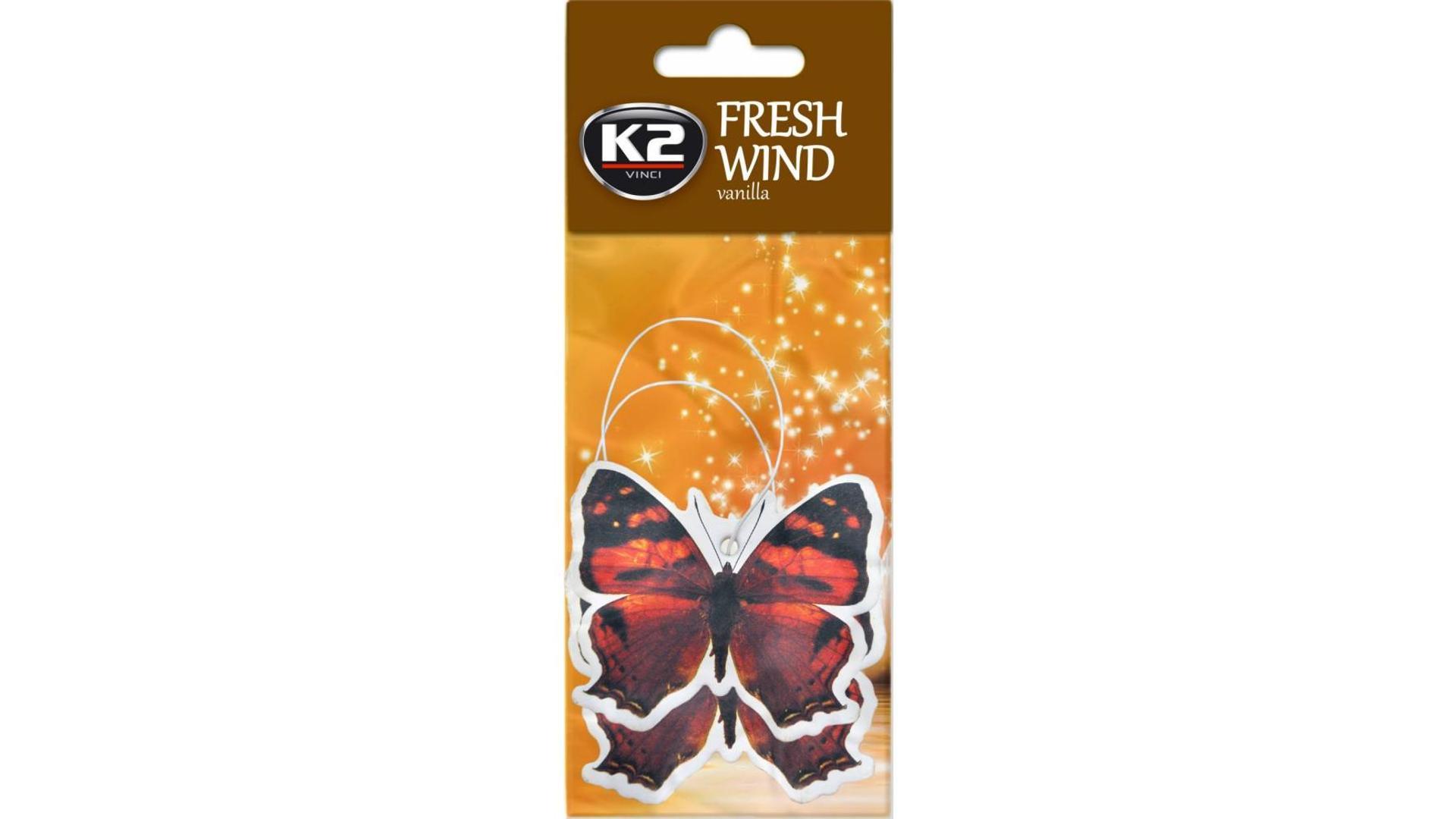 K2 FRESH WIND osvěžovač vzduchu - Vanilka
