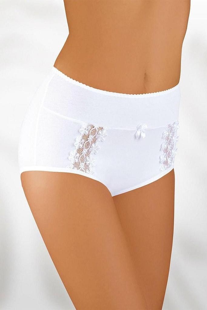 Dámské kalhotky 005 plus white - 3XL