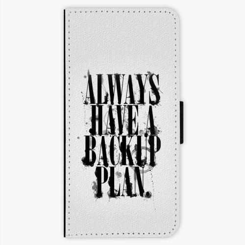 Flipové pouzdro iSaprio - Backup Plan - Sony Xperia XA