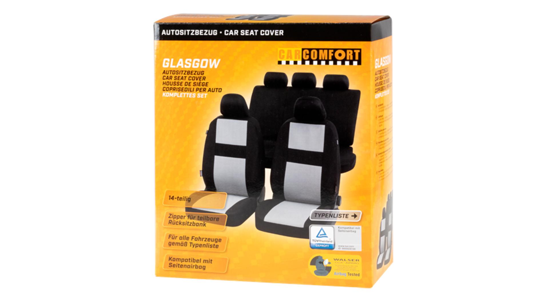 Walser Potah autosedacky Glasgow 2VS 5NS 1RS 5 kusů černo-šedá Slot