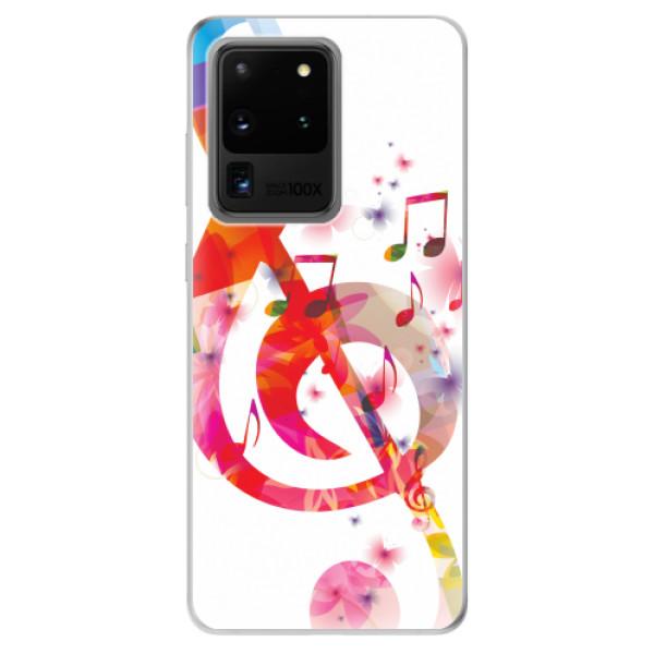 Odolné silikonové pouzdro iSaprio - Love Music - Samsung Galaxy S20 Ultra