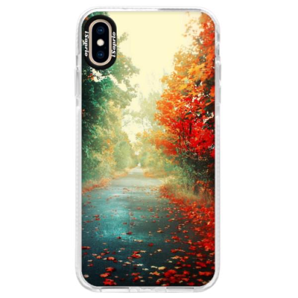 Silikonové pouzdro Bumper iSaprio - Autumn 03 - iPhone XS Max