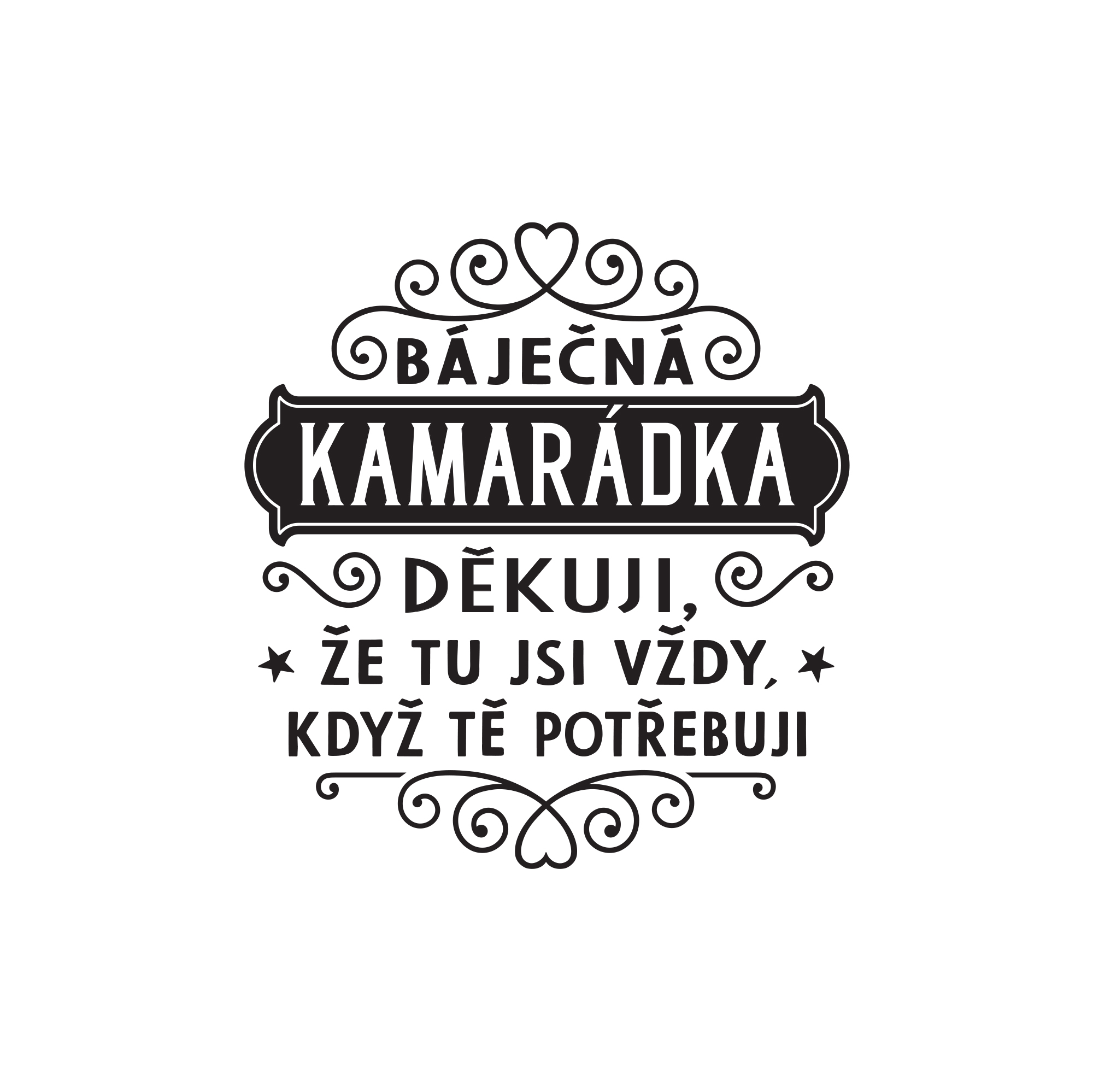 Šperkovnice - Kamarádka