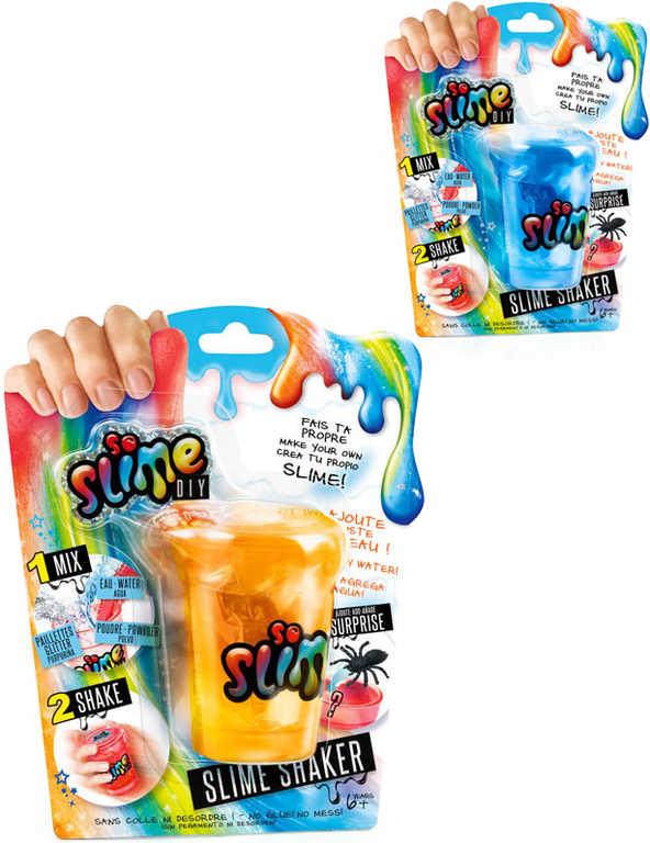 EP line Slime výroba slizu pro kluky kreativní set shaker s glitry a hmyzem 5 druhů