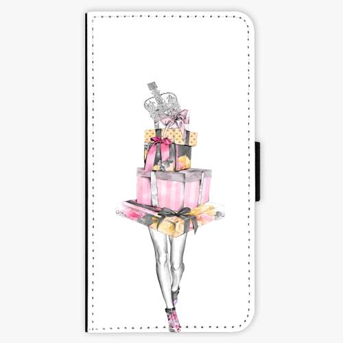 Flipové pouzdro iSaprio - Queen of Shopping - Sony Xperia XZ