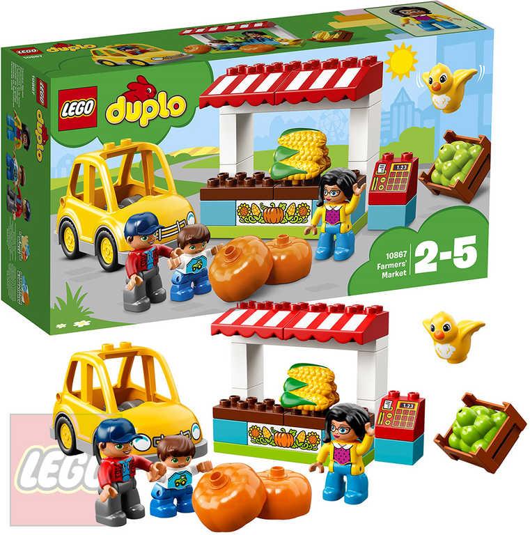 LEGO DUPLO Farmářský trh STAVEBNICE 10867