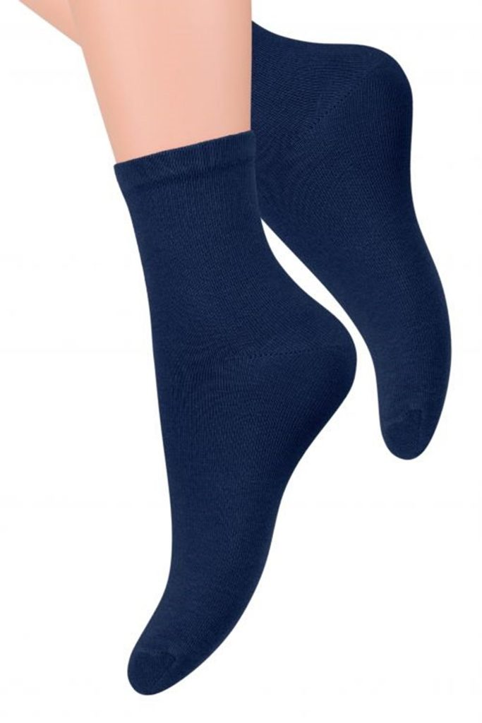 Dámské ponožky 037 dark blue