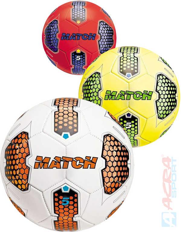 ACRA Míč kopací fotbalový MONDO MATCH vel.5 různé barvy