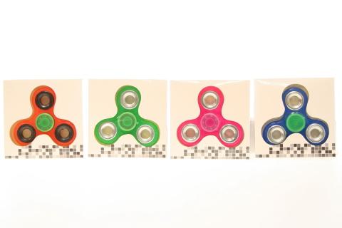 Spinner kov/plast NEON