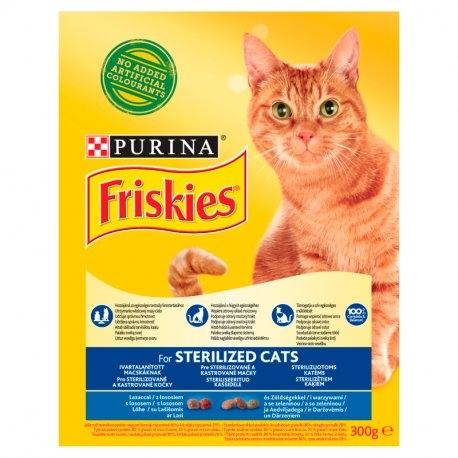 Sterilized s lososem a se zeleninou granule pro kočky 300 g